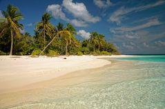 Liebe Grüße von den Malediven