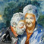 Liebe ist..... wenn man miteinander lachen kann!