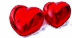Liebe ist...wenn Herzen sich annähern.........#13.2386#36/50