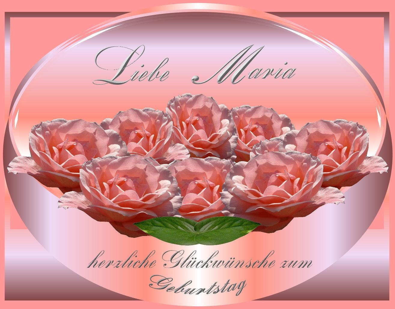 Liebe Maria Foto Bild Spezial Geburtstag Gratulation Und
