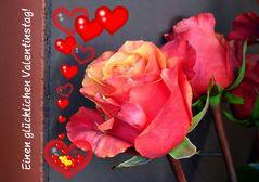 Liebe Valentinsgrüße!