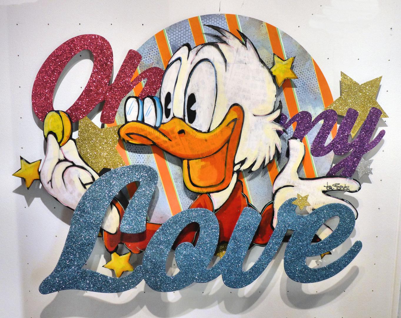 Liebeserklärung an Donald Duck