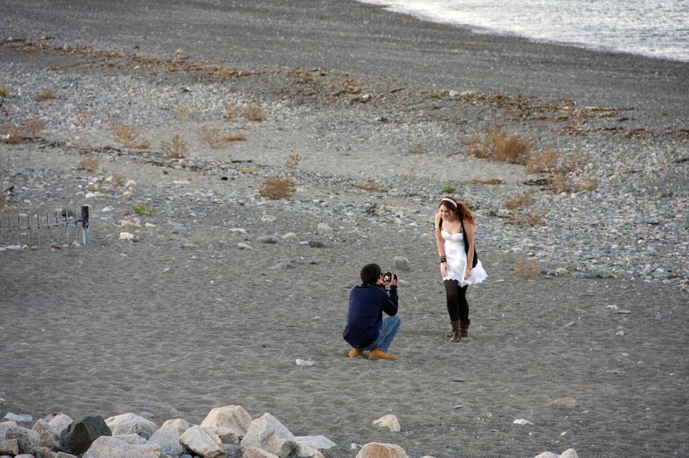 Liebesglück am Strand