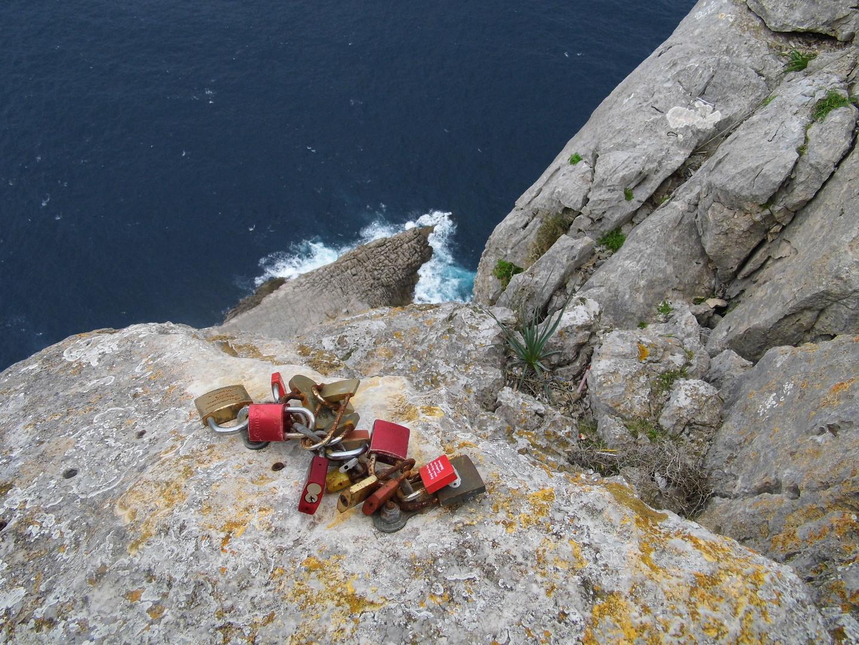 Liebesschlösser auf Mallorca