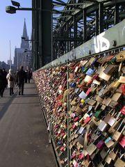 Liebesschlösser zu Köln