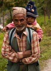 Liebevoller Opa