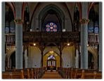 Liebfrauenkirche Blick Orgel