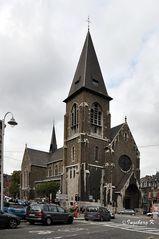 Liége - Kirche Saint Pholien in Outhre Meuse