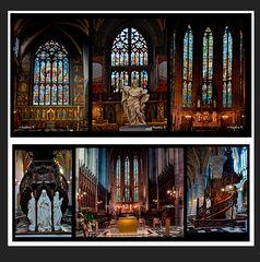 Liége - Kirche St. Paul - Altäre - Kanzel, Orgel -