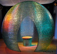 Liége - Kristallerie Val saint Lambert - Glaskugel