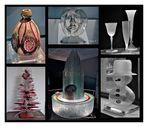 Liége - Kristallerie Val saint Lambert - Glaskunstvarianten