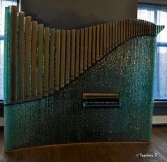 Liége - Kristallerie Val saint Lambet - Eine Orgel aus Glas