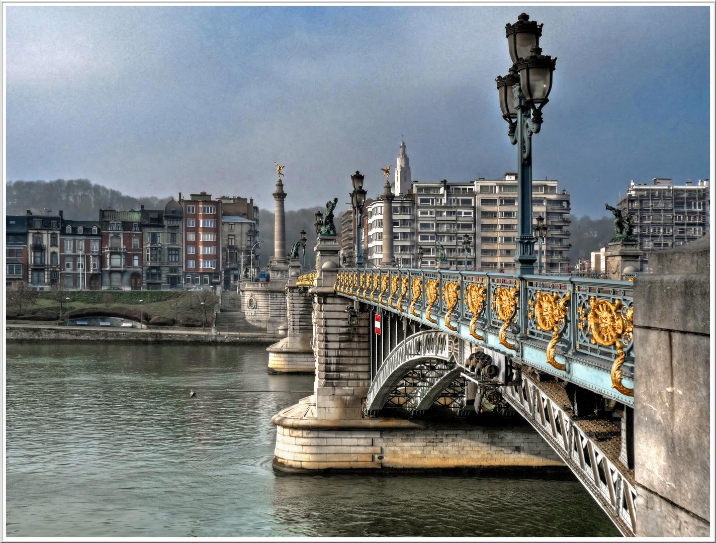 LIEGE, le pont de Fragnée