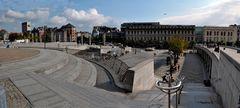 Liége - Place Saint Lambert vor dem Fürstbischöflichen Palast