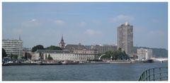 Liège vue du quai Mativa