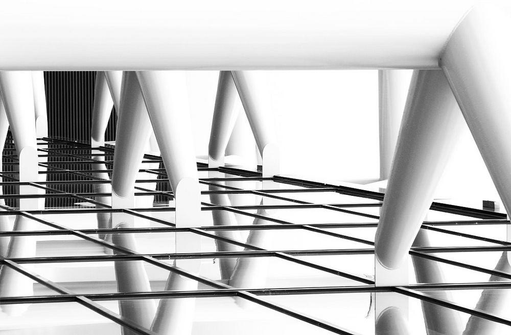 Liegende Architektur ( Rotterdam Messezentrum Ahoy)