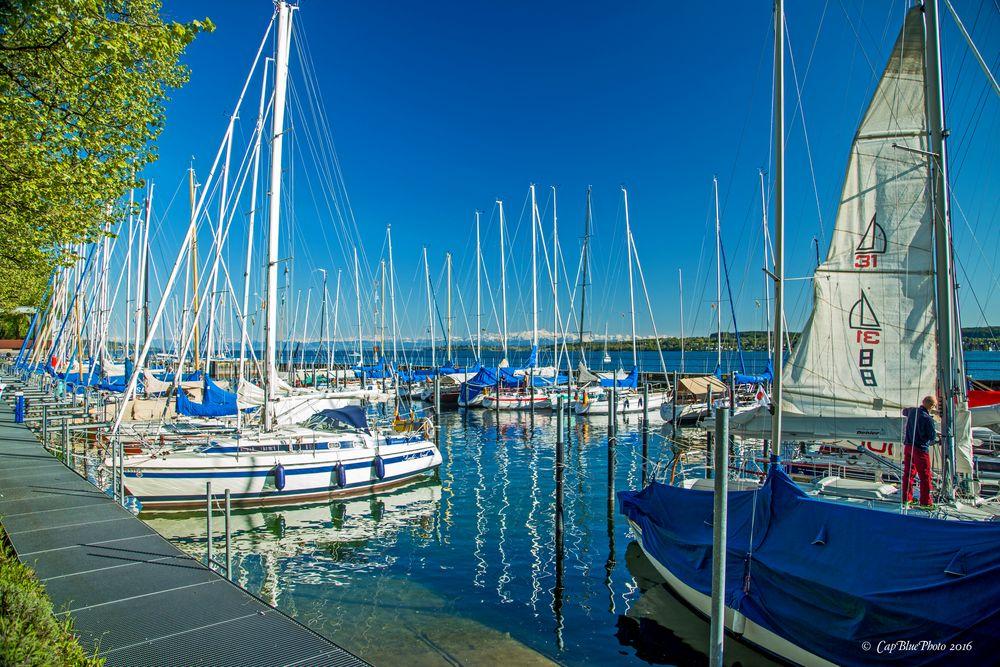 Liegeplatz für Segeljachten in Überlingen