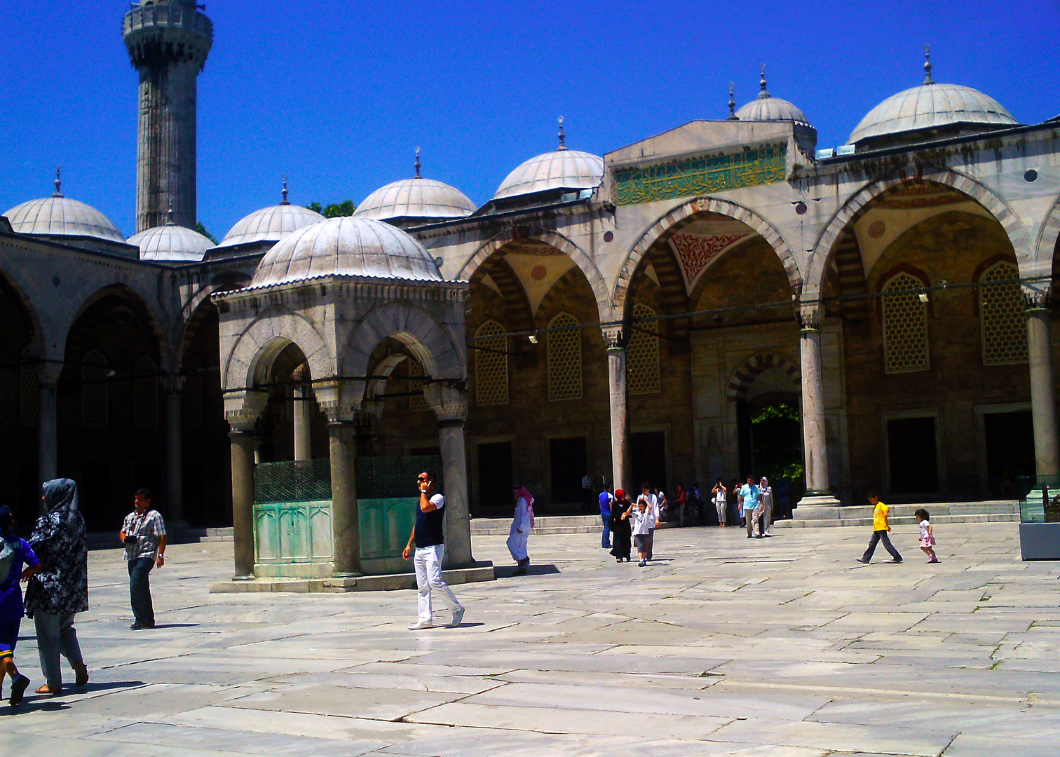 LIFE AT THE BLUE MOSQUE...........ISTANBUL