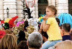 Life Ball Wien 2007 / So fragende und doch so unvoreingenommene Augen...