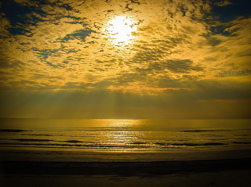 light filter in Black Sea