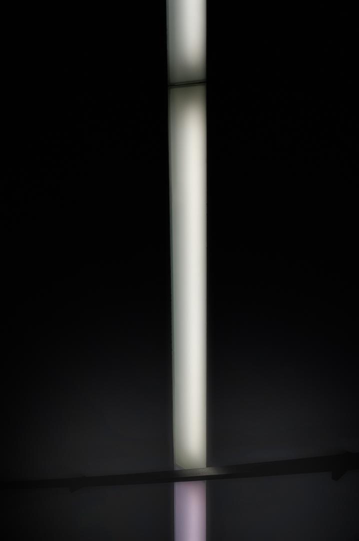 light & handrail