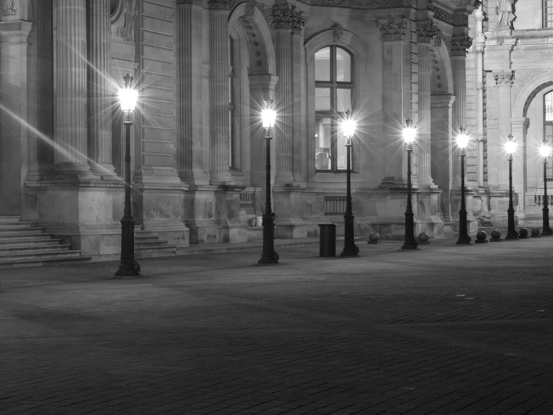 light Louvre