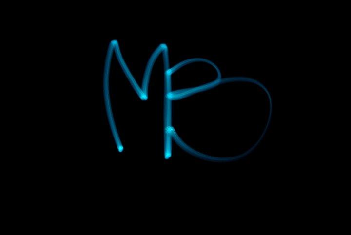 Light painting - MB