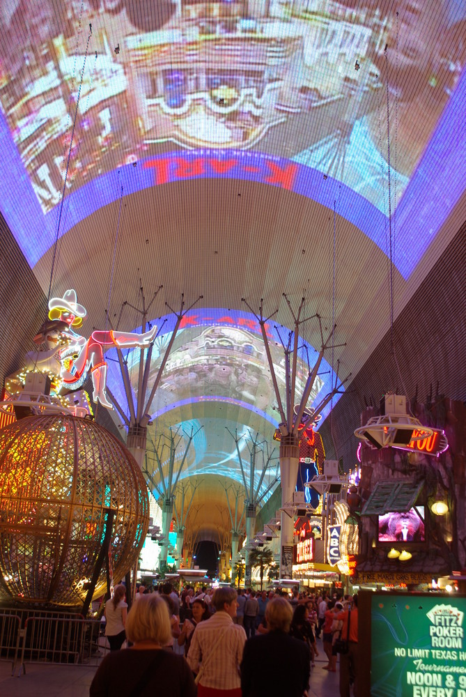 Light - Show im Fremont
