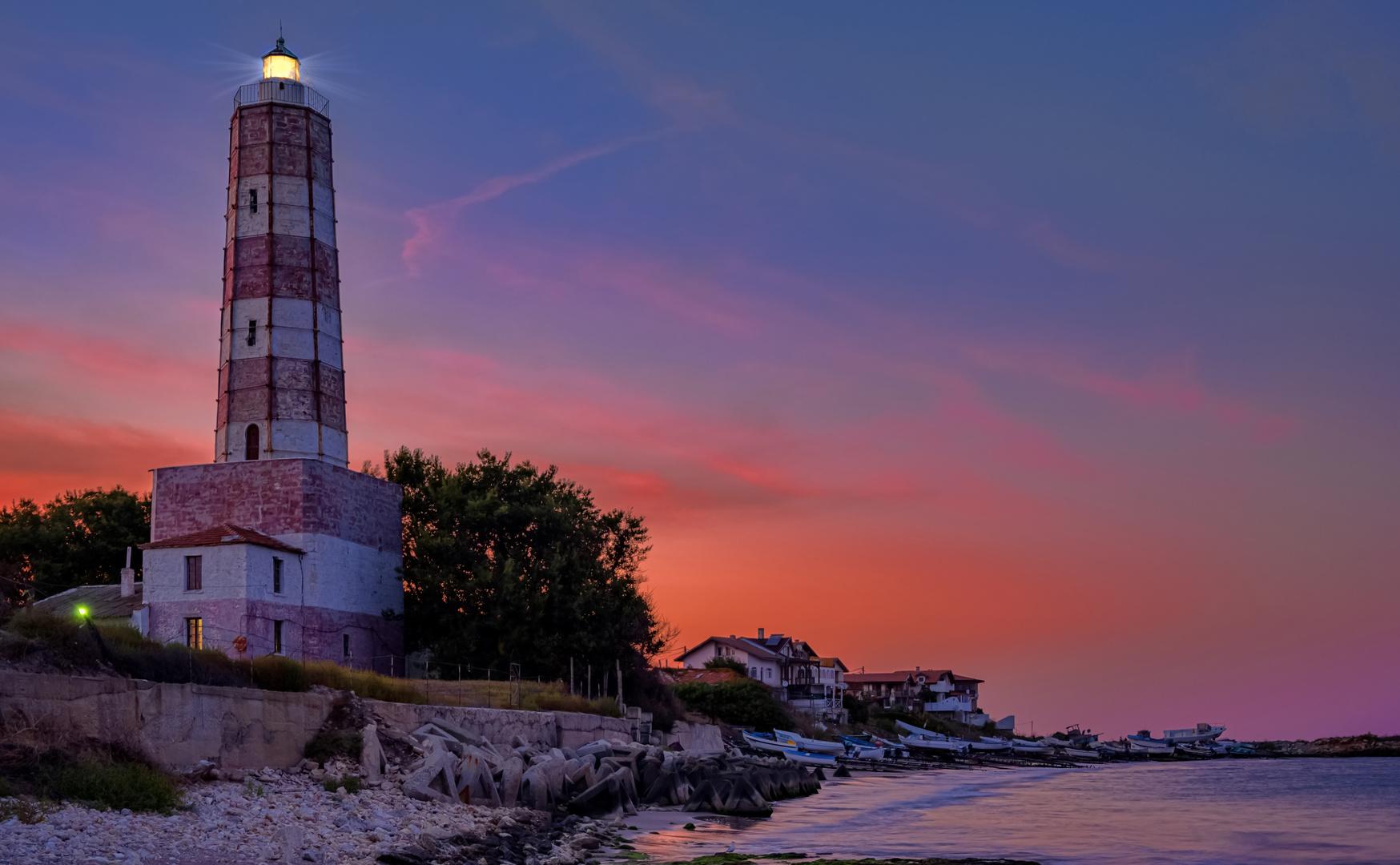 Lighthouse Fire
