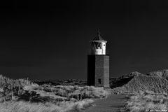- Lighthouse in the dark -