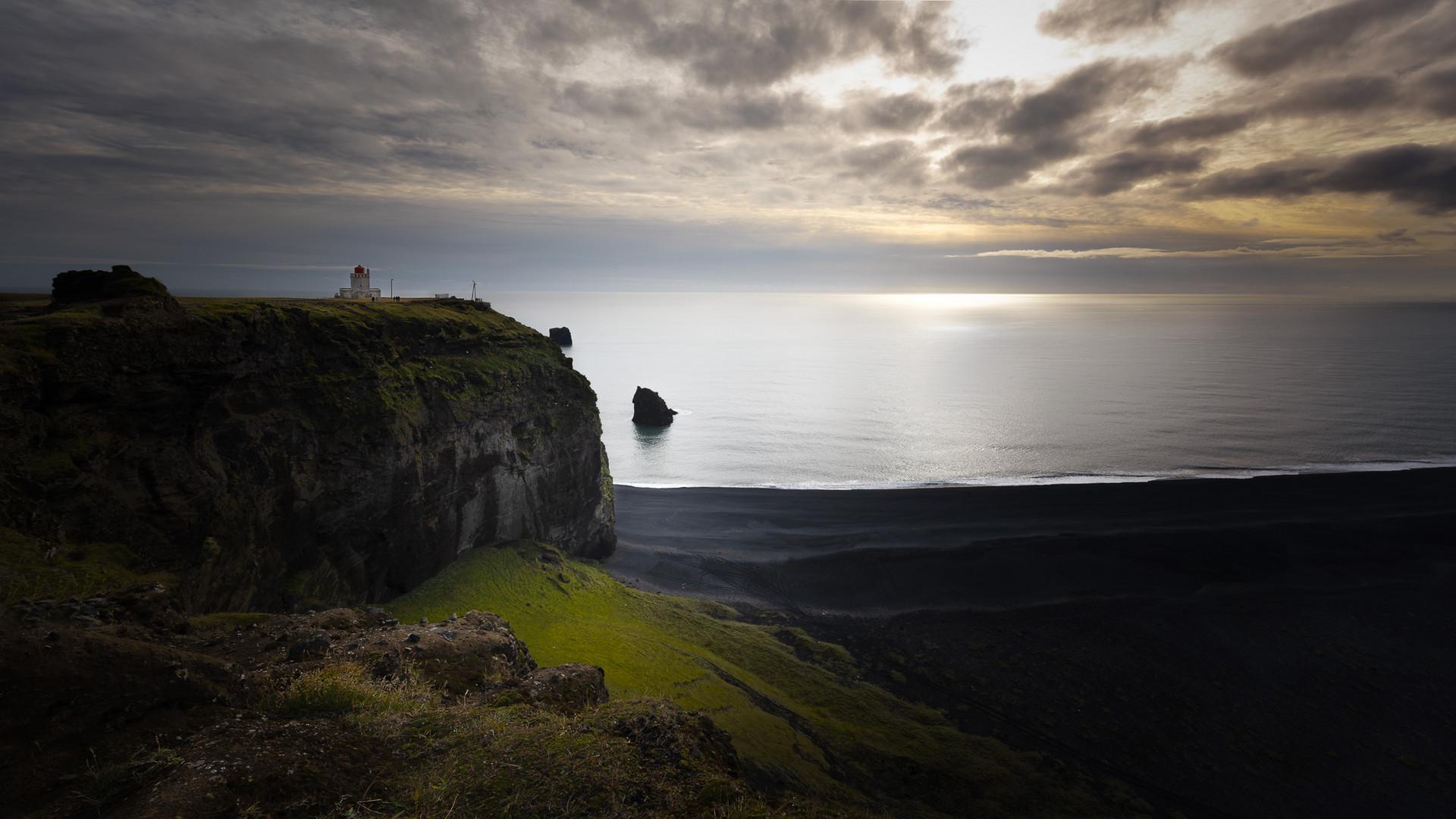 Lighthouse Kap Dyrhólaós