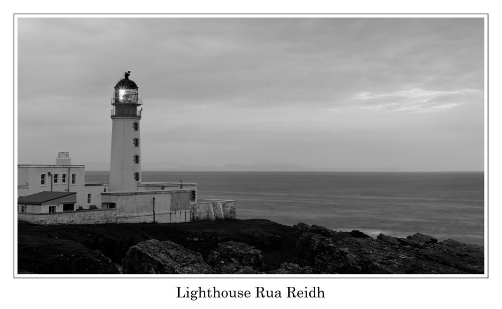 Lighthouse Rua Reidh