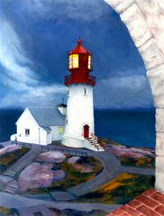 Lighthouses: Lindesnes Fyr - Norway