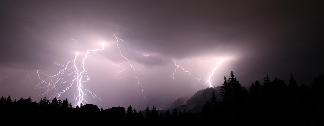 Lightning @ Dachstein II