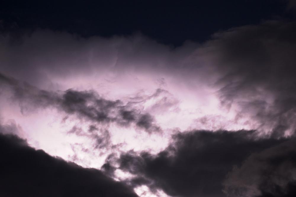 Lightning in the night...