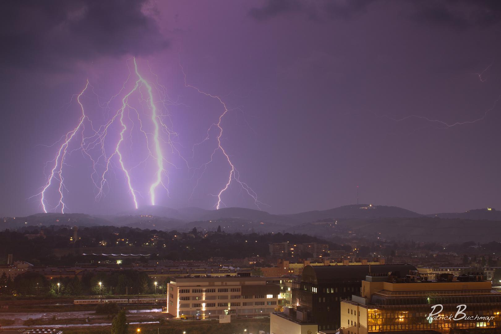 Lightning in Vienna 2
