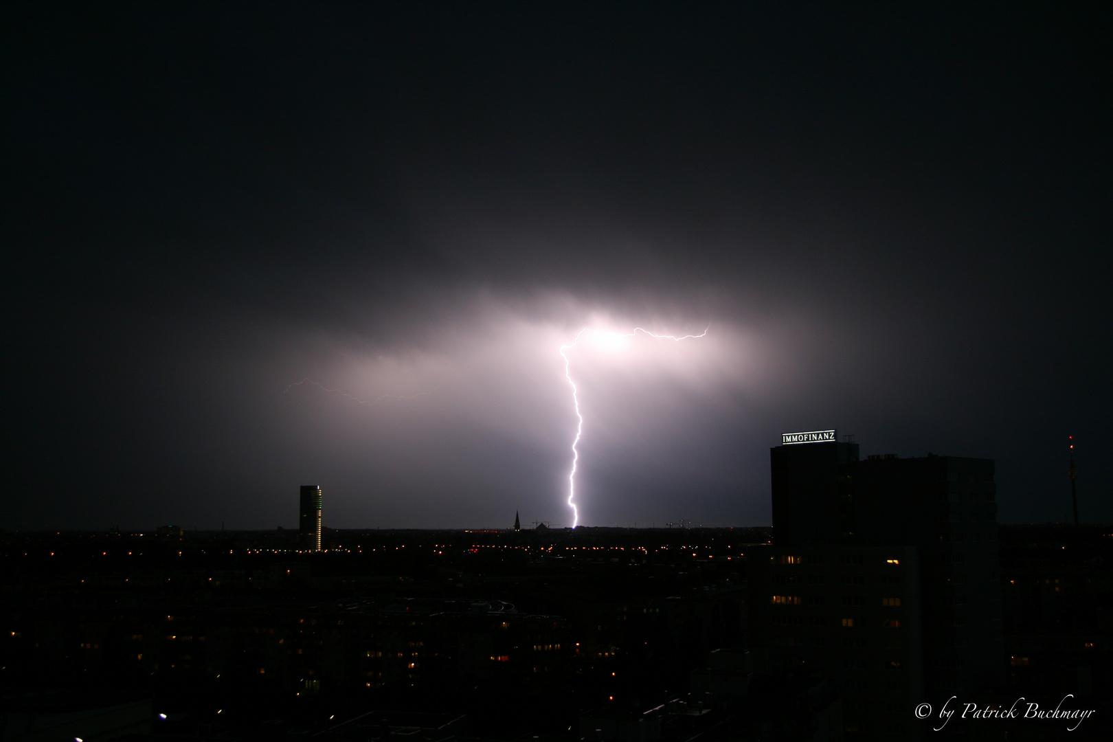 Lightning in Vienna