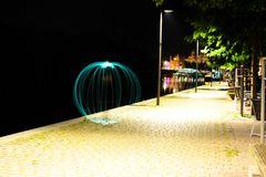 Lightpainting 2. Versuch