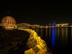 Lightpainting in Köln