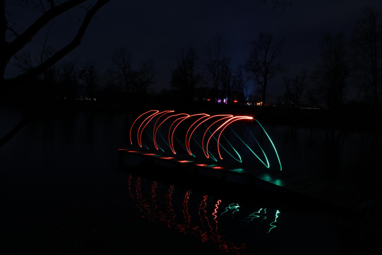 Lightpainting Night Original
