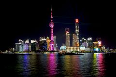Lightshow in Pudong