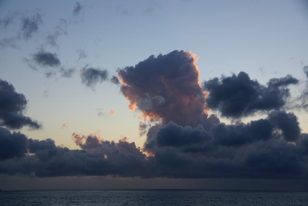 Ligne de nuage