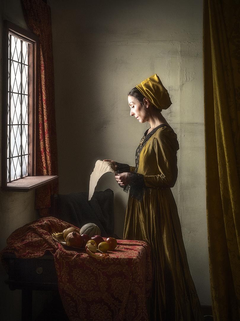 like a Vermeer