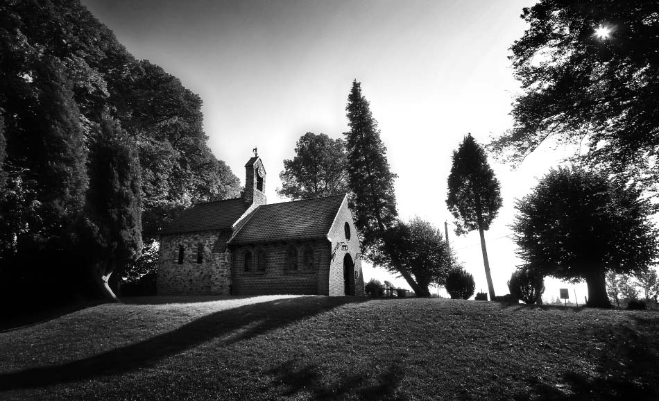 Lil' chapel on the hill