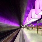 Lila Bahnhof