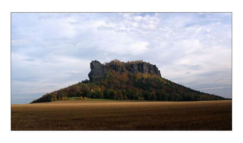Lilienstein im Herbst