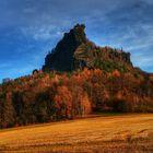 Lilienstein, im Herbst,