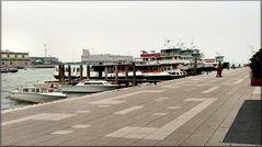 L`Imbarcadero all`isola del Tronchetto -Venezia