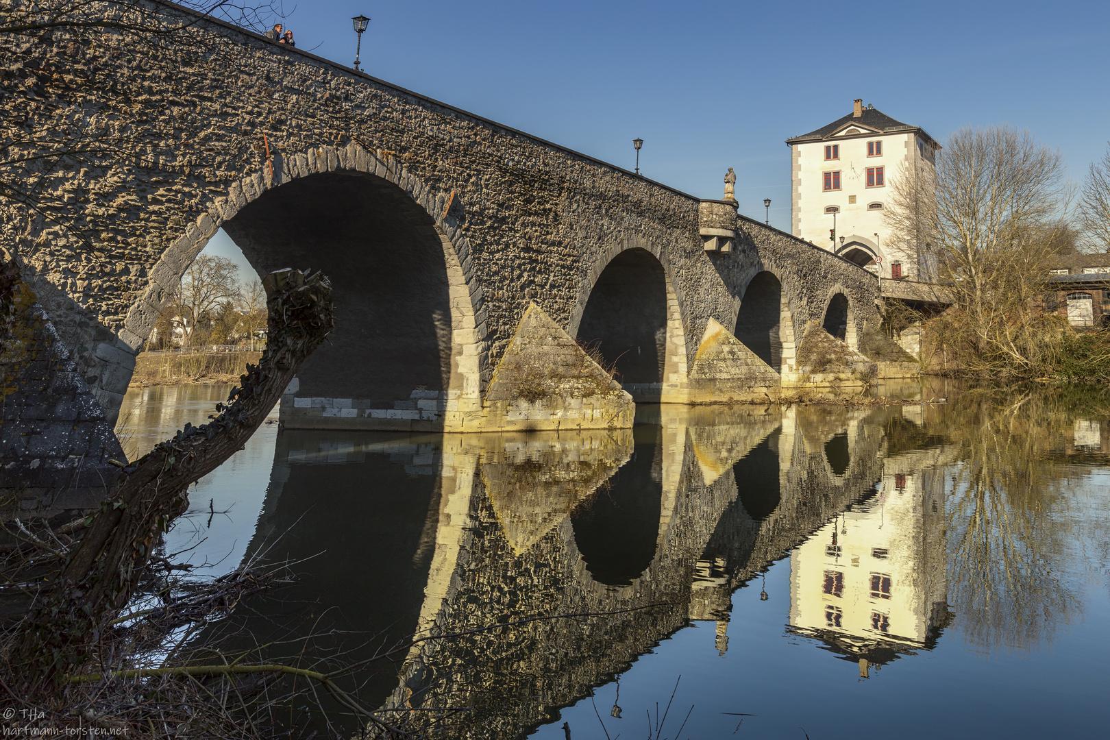 Limburg, alte Lahnbrücke