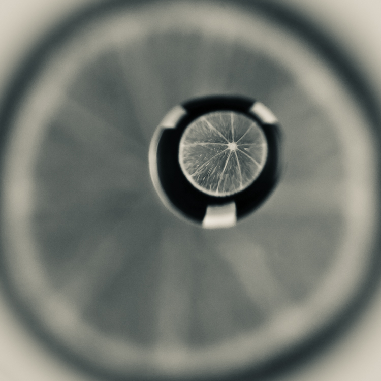 Lime in a drop